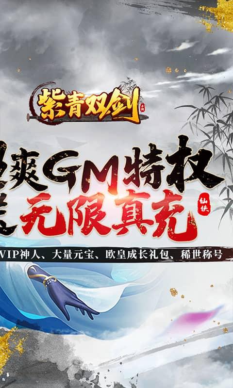 紫青双剑(送GM真充)游戏截图2